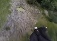 Efektowna stabilizacja obrazu podczas lotu wingsuit