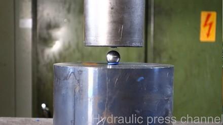 Prasa hydrauliczna kontra kulka od łożyska vol.2