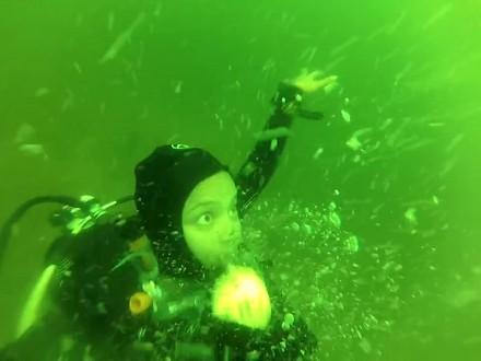 Atak paniki na głębokości 15 metrów