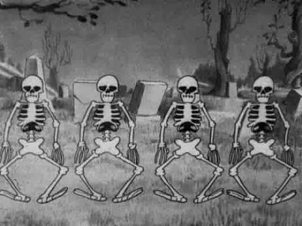 The Skeleton Dance - kreskówka Disneya z 1929 roku