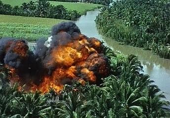 Miażdząca siła napalmu w Wietnamie w jedenastominutowej kompilacji