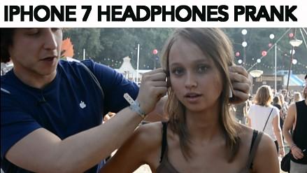 """Reakcja na """"bezprzewodowe słuchawki"""" do iPhone'a 7"""