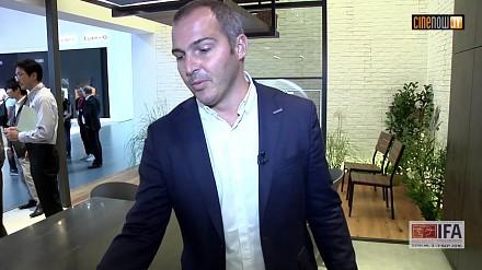 """""""Niewidzialny"""" telewizor Panasonic"""