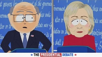 Hillary Clinton vs Mr. Garrison - debata