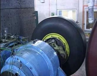 Ekstremalny test hamulców Airbus A380-800