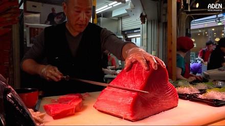 Sashimi - czyli uliczne jedzenie w Japonii