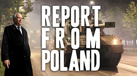 Raport z Polski: czołgi na ulicach