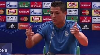 Wkurwiony Ronaldo po meczu z Legią