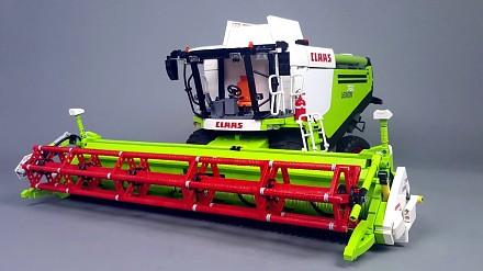 Niesamowity model z klocków LEGO