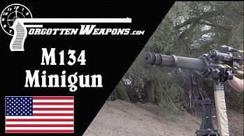 Prezentacja M134 Minigun
