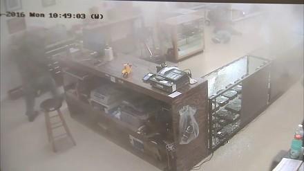 Napadli z bronią na sklep... z bronią. Spotkała ich szybka kara
