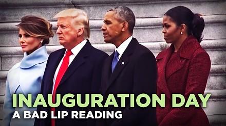 Złe czytanie z ruchu warg na zaprzysiężeniu Trumpa