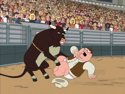 Family Guy - Peter na rodeo