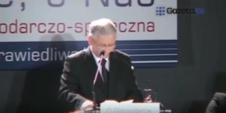 Jarosław Kaczyński się zawiesił