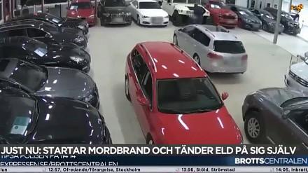 Podpalacz w Szwecji dostaje za swoje