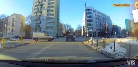 Tak się jeździ po Warszawie