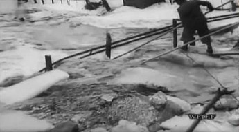 Tak wyglądała powódź w 1947 roku