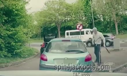 Zarażone wścieklizną dresiki atakują kierowcę