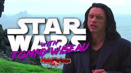 Najgorszy aktor Tommy Wiseau w Gwiezdnych Wojnach