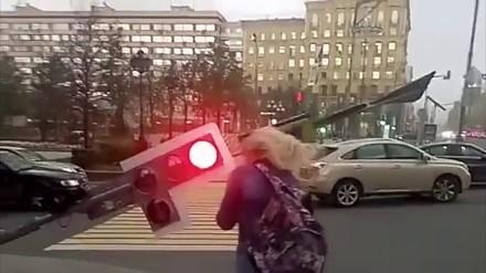 Potężny huragan uderzył w Moskwę