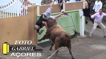 Nagrywał byka do ostatniej chwili