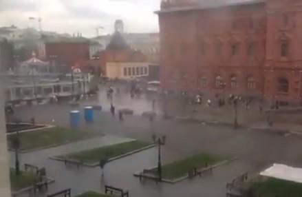 W Moskwie przenośne toalety zaczęły atakować ludzi