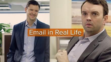 E-maile w realnym życiu