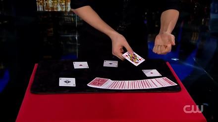 Mistrz karcianych sztuczek Shin Lim ponownie u Penna i Tellera