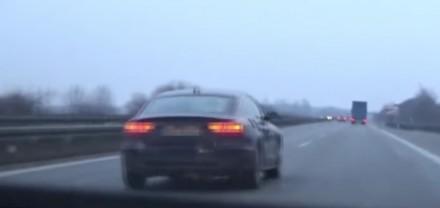 Polak ucieka przed niemiecką policją