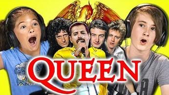 Reakcja dzieci na zespół Queen