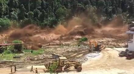 Pękła tama hydroelektrowni w Laosie