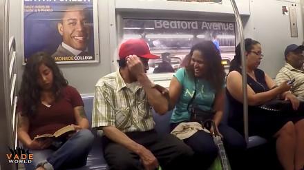 Jak bezpiecznie spać w metrze?