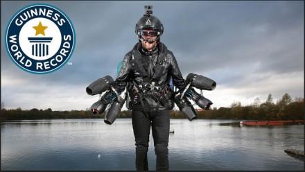 Stworzył kostium Iron Mana i ustanowił rekord Guinnessa