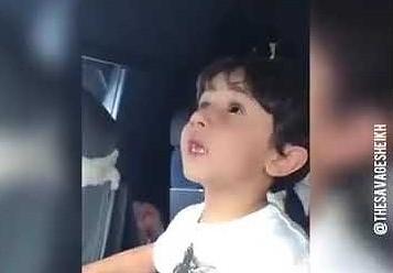 6-latek wprawił w osłupienie pilotów samolotu