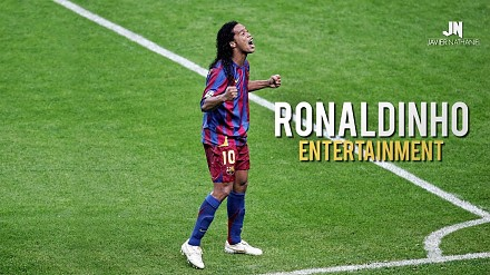 Pamiętacie go? Ronaldinho - prawdziwy magik futbolu