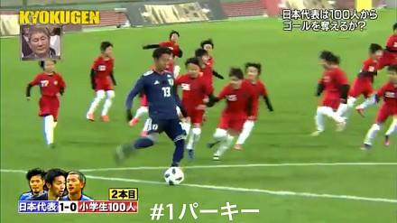 Na boisku zmierzyła się trójka profesjonalnych piłkarzy i setka dzieci