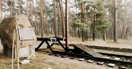 Pociąg nadaje sygnał RP-1 w miejscu katastrofy kolejowej