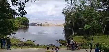 Małe tsunami w Indiach