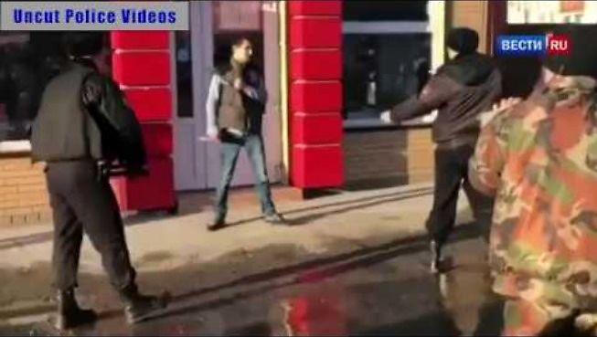 Rosyjski paralizator w akcji