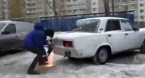 Rosyjski sposób na źle parkujących kierowców
