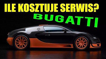 Ile kosztuje serwis Bugatti Veyrona?