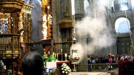Niezwykła msza w katedrze w Santiago de Compostela