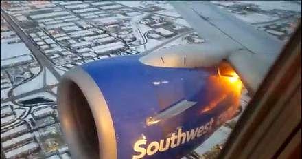 Silnik Boeinga 737 eksplodował w powietrzu. Rozmowa załogi z kontrolą lotów