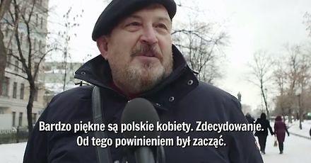 W ulicznej sondzie zapytano Rosjan, co myślą o Polakach