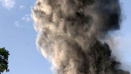 Płonie największe wysypisko w Polsce