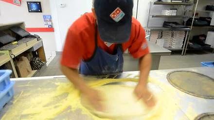 Trzy pizze w 39 sekund