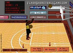 Flash Basketball Game