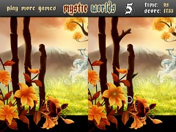 Mystic Worlds Difference Game