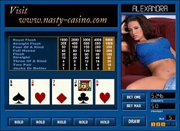 Alexandra Strip Poker